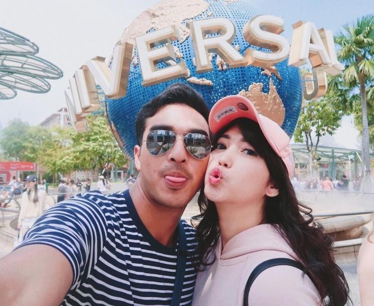 Ibrahim Risyad dan Dewi Paramita