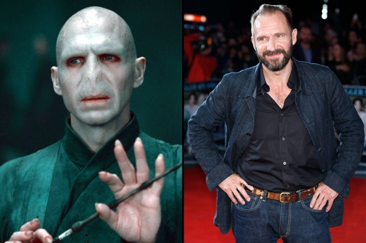 Ralph Fiennes sebagai Lord Voldemort di film Harry Potter from vanityfair.com