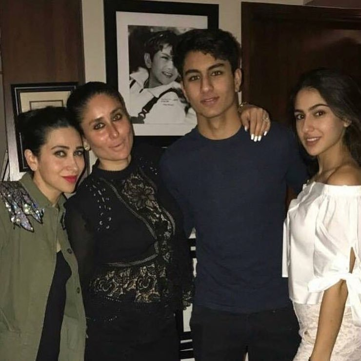 Kareena Kapoor  (Instagram/@officialsaraalikhan)