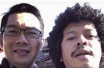 Ridwan Kamil foto bareng seleb. (Instagram/@ridwankamil)