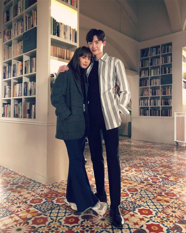 Lee Jong Suk dan Lee Na Young di Romance is a Bonus Book (Instagram/@jongsuk0206)