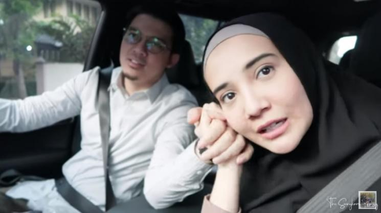 Irwansyah dan Zaskia Sungkar. (YouTube/The Sungkar Family)