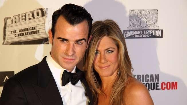 Jennifer Aniston dan Justin Theroux (Shutterstock)