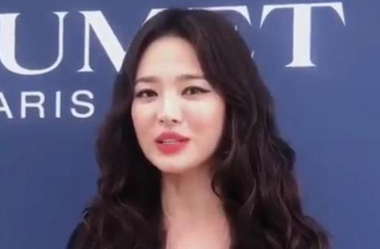Song Hye Kyo (Capture Video Instagram)