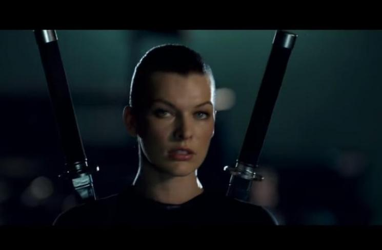Resident Evil Afterlife. (Youtube/hollywoodstream)