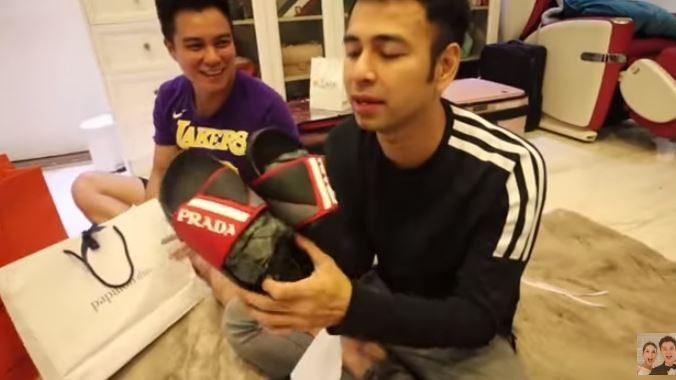 Raffi Ahmad dan Baim Wong. (Youtube/RANSEntertainment)