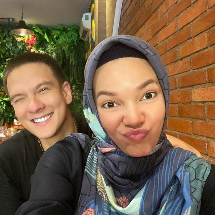 Dewi Sandra dan Bertrand Antolin (Instagram/@dewisandra)