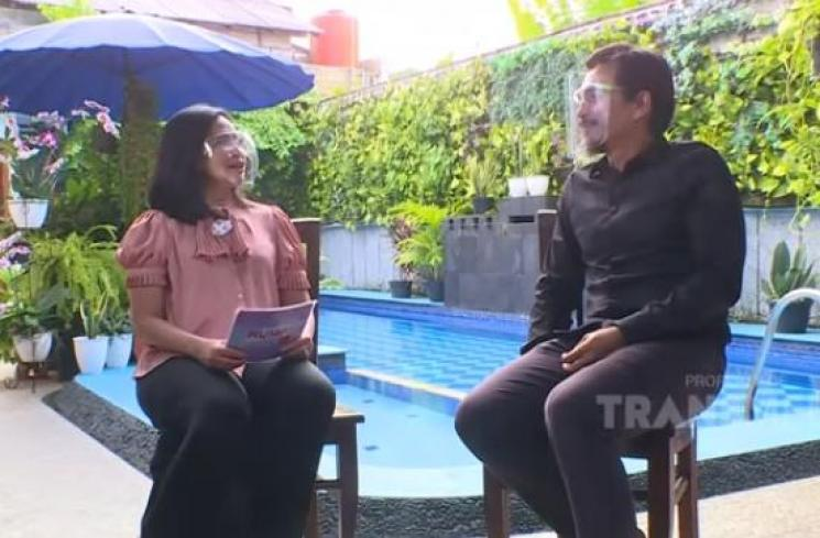 Feni Rose dan Teddy Syah (YouTube/Trans TV Official)