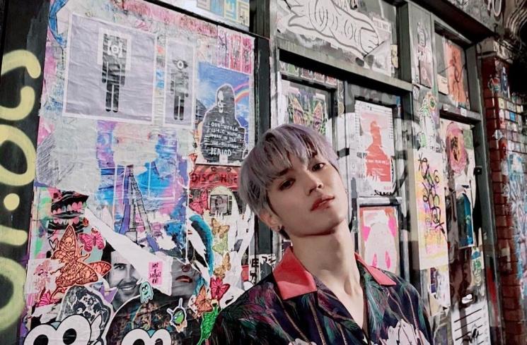 Profil Taeyong NCT (Instagram/@taeoxo_nct)