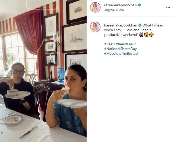Kareena Kapoor dan Karisma Kapoor (Instagram/@kareenakapoorkhan)